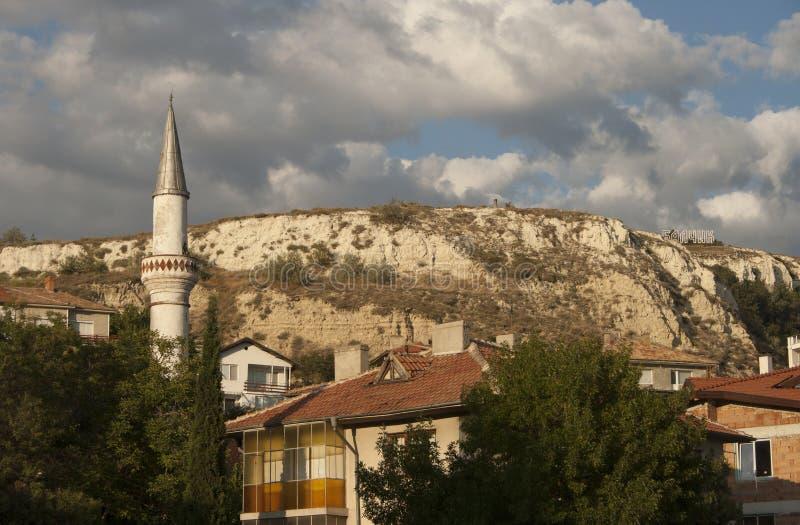 Balchik-Hügel stockfoto