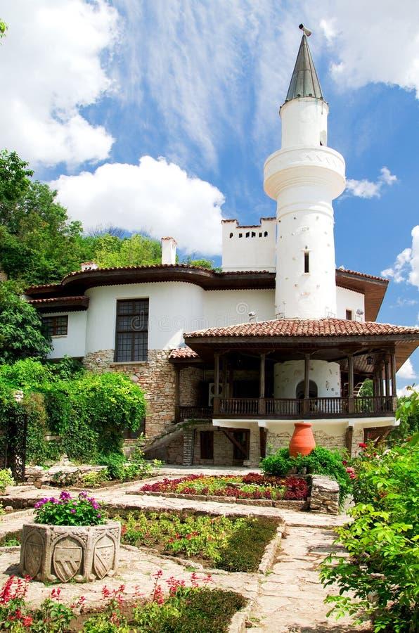 Download Balchik Palace stock photo. Image of garden, europe, vacation - 20641830