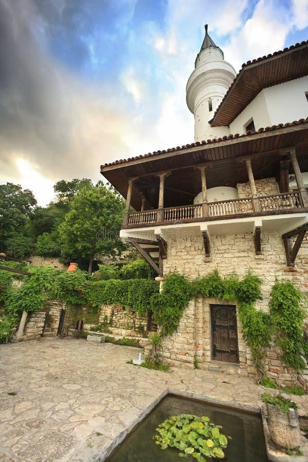 Balchik Palace. The Balchik Palace is a palace in the Bulgarian Black Sea stock photo