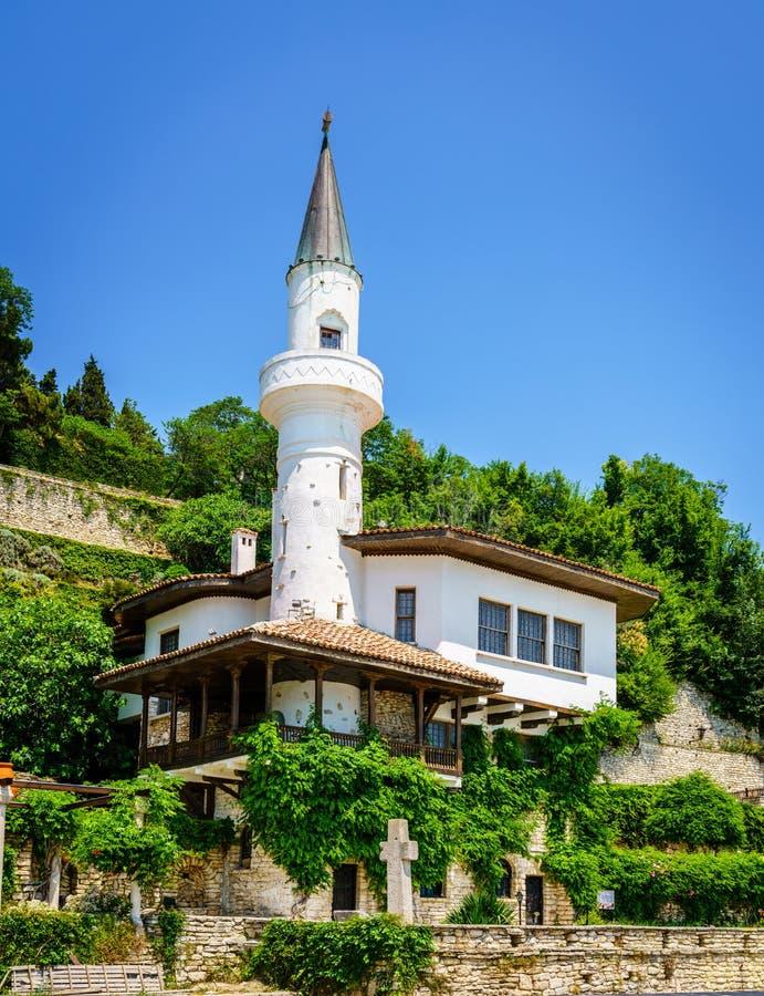 Balchik-Palast, Bulgarien lizenzfreie stockfotos
