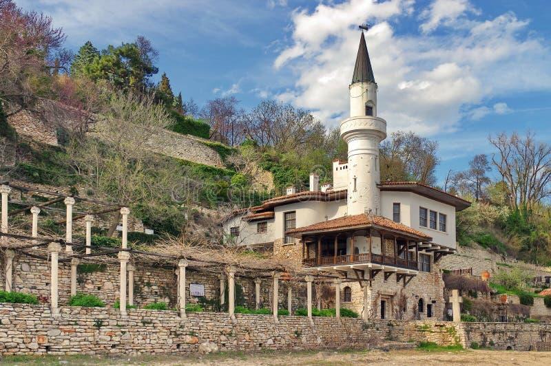 Balchik slott royaltyfri fotografi