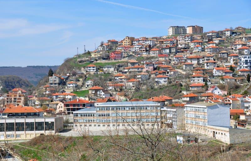 balcik城市屋顶 图库摄影