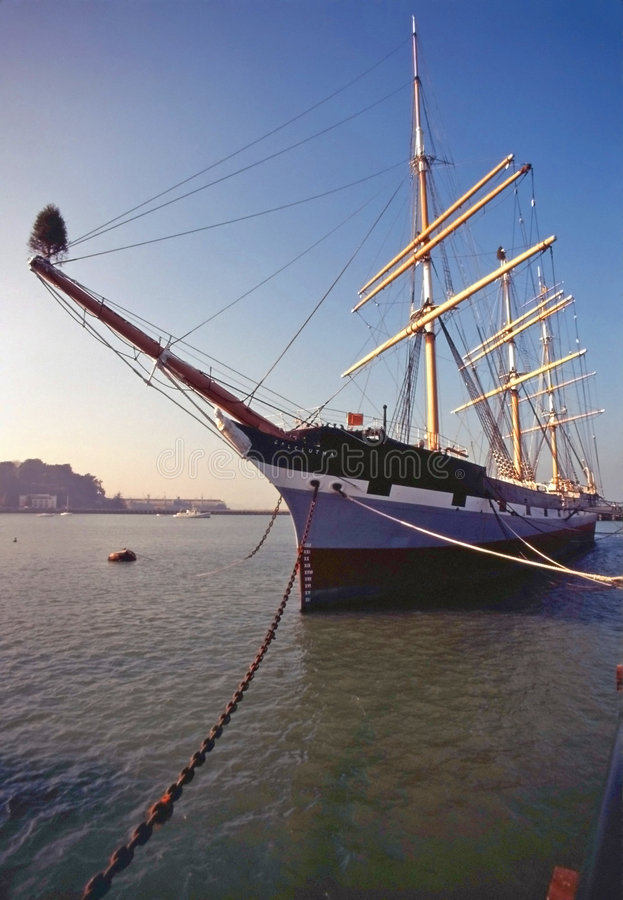 The Balclutha royalty free stock photography
