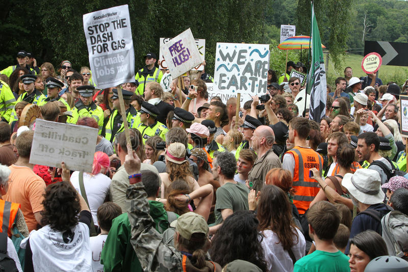 Balcombe Fracking Protests