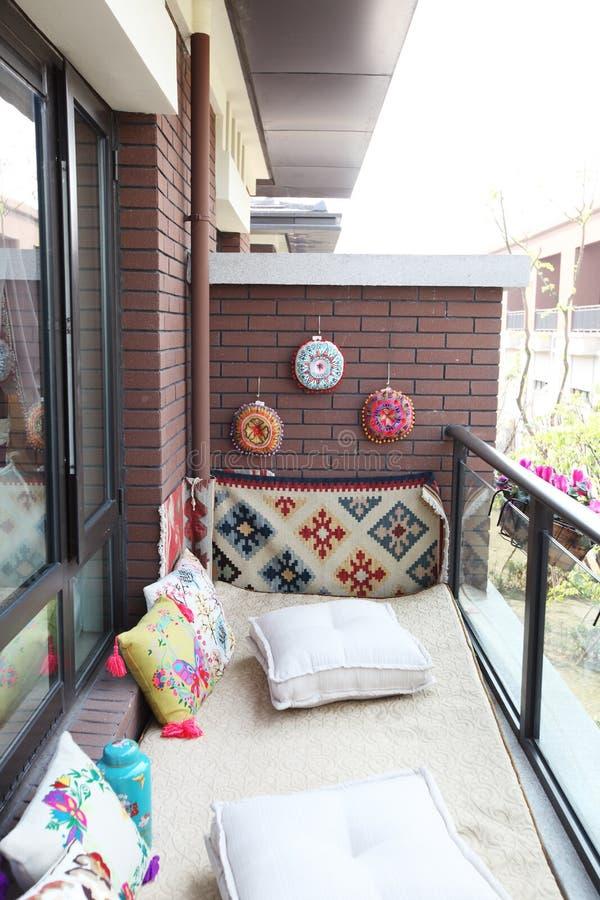 Balcon photos libres de droits