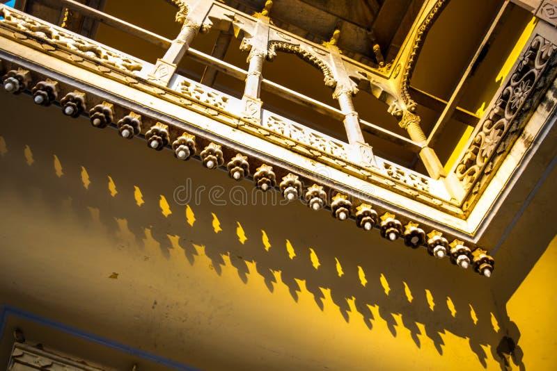 Balcon au palais de ville image libre de droits