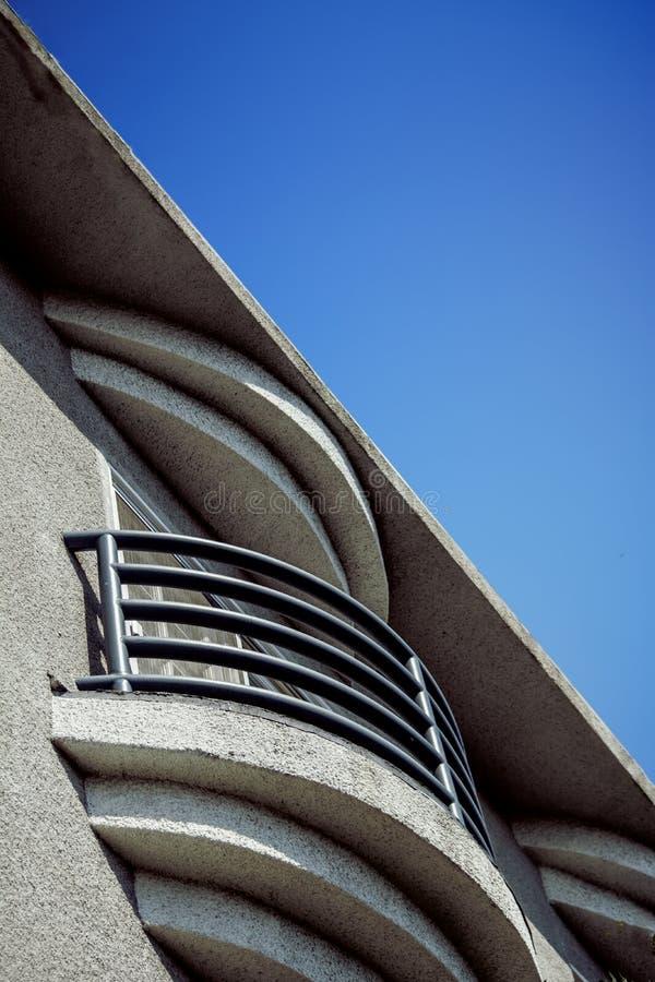 Balcon avec une vue image stock