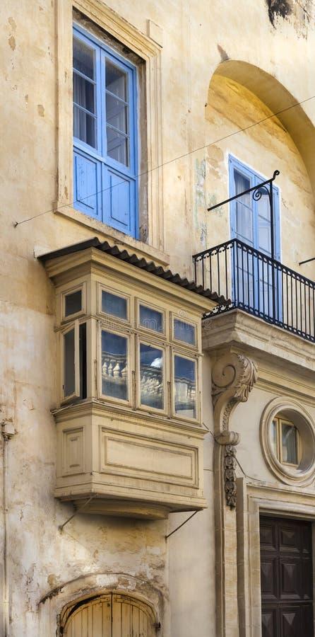 Balcon blanc photo libre de droits