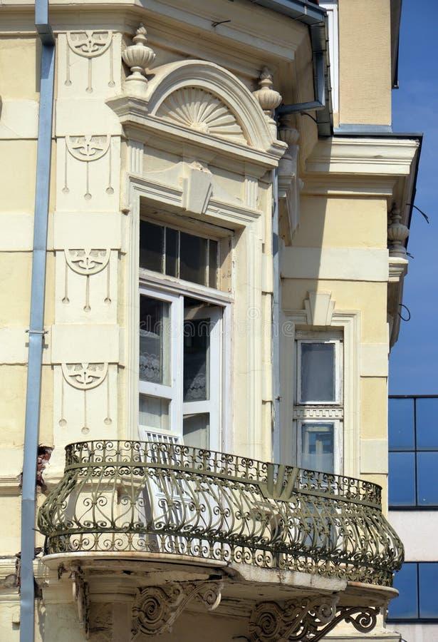 Balcon dans Bitola Macédoine images libres de droits