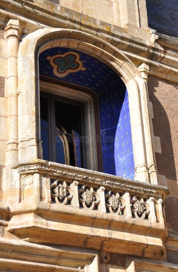 Balcon de pierre décorative image libre de droits