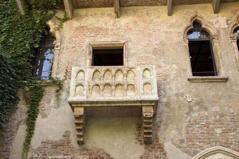 Balcon du ` s de Juliet photos stock