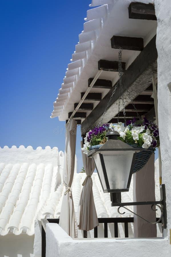 Balcon Menorquin imagens de stock royalty free