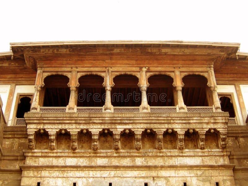 Balcone antico fotografie stock libere da diritti