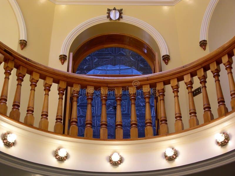 Balcone decorato fotografia stock libera da diritti
