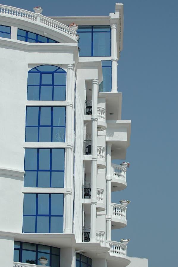 Balcone dell'hotel fotografia stock