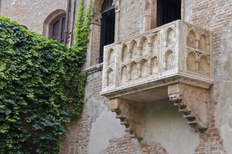Balcone di Juliet fotografia stock libera da diritti