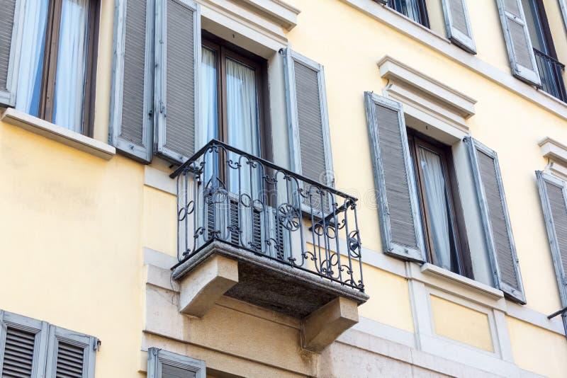 Balcone italiano immagini stock
