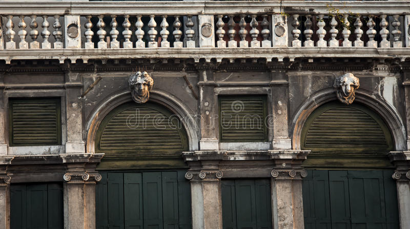 Balcone Venezia immagine stock
