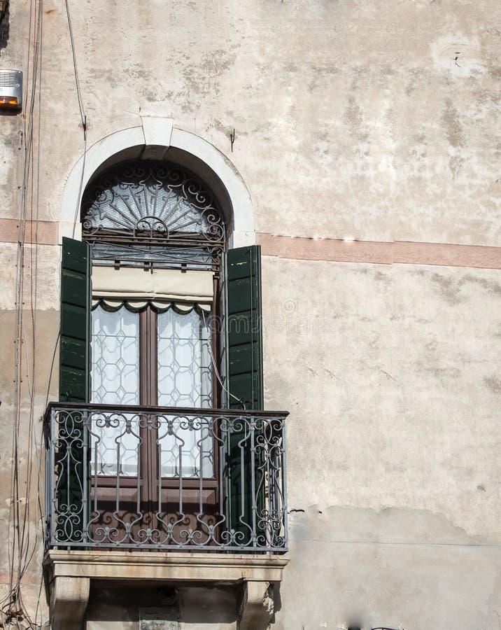 Balcone Venezia immagine stock libera da diritti