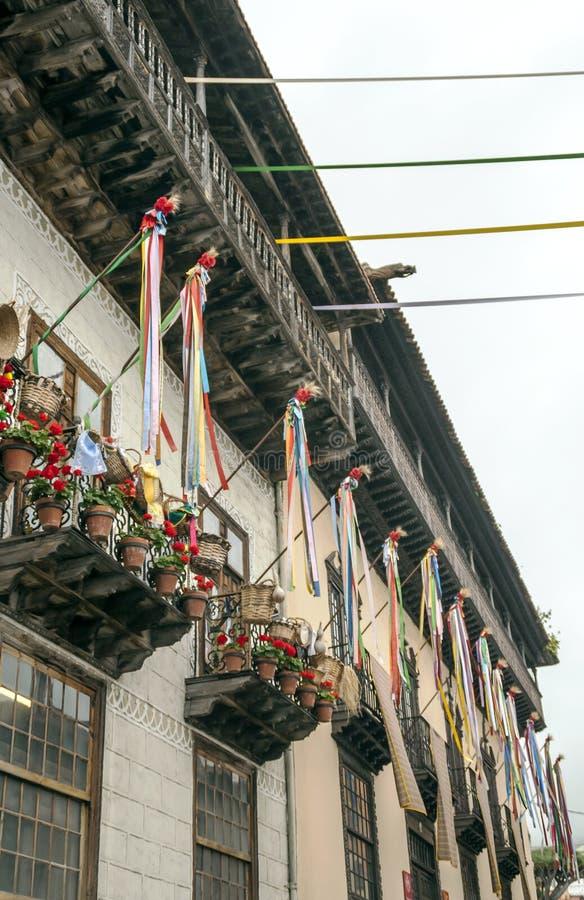 Balcones DE La Orotava royalty-vrije stock afbeelding