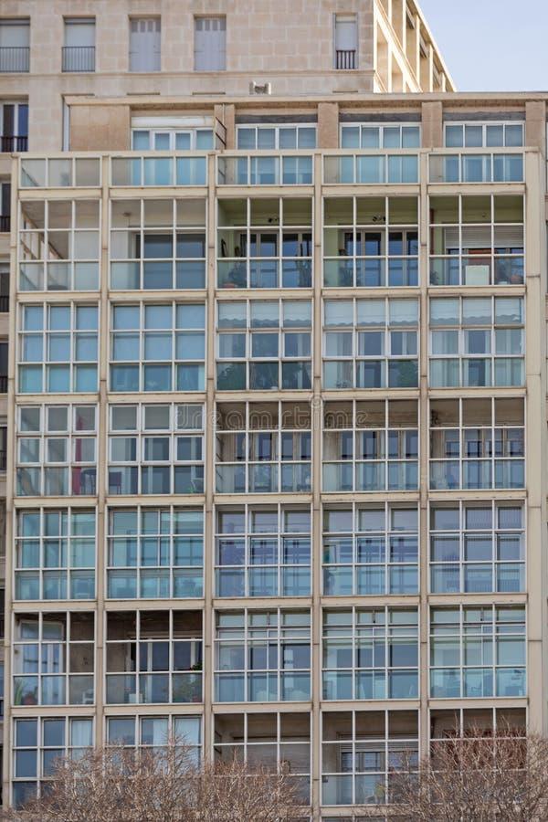 Balcones de vidrio foto de archivo libre de regalías