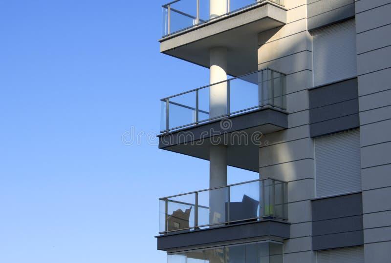 Download Balconies stock image. Image of building, modern, balconies - 27855695