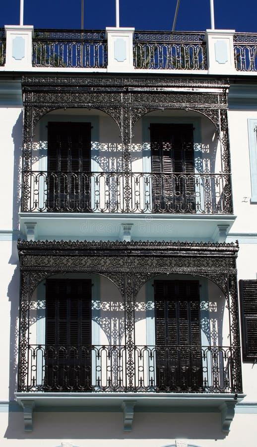 Download Balconies Decorative Railings Stock Photo - Image: 14891192