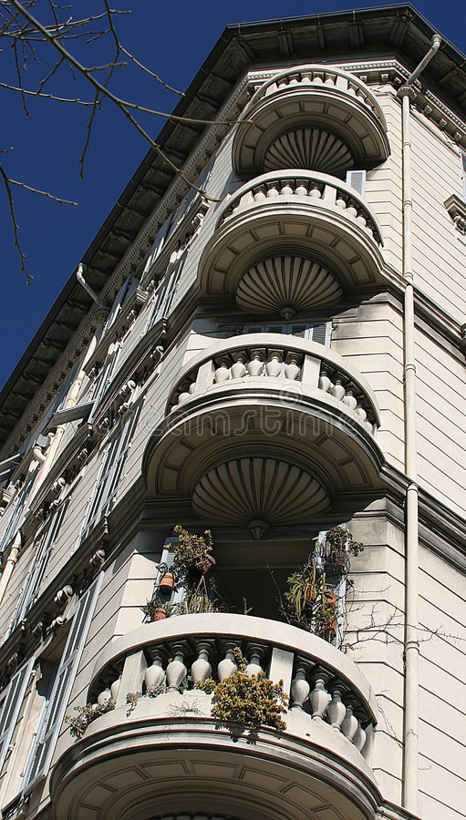 Free Balconies Detail In Italy Royalty Free Stock Photos - 6805378