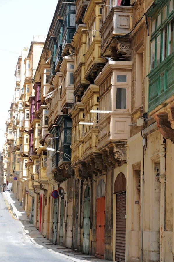 Balcons fermés photo stock