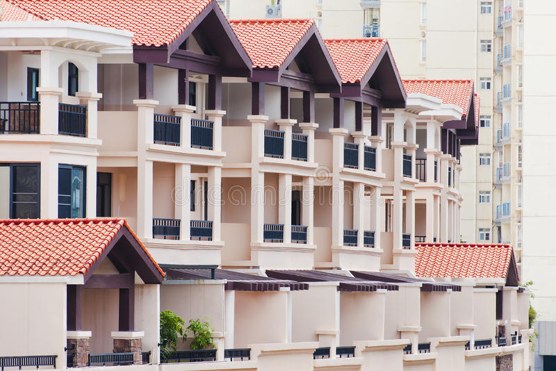 Download Balcony stock photo. Image of estate, condos, community - 25665560