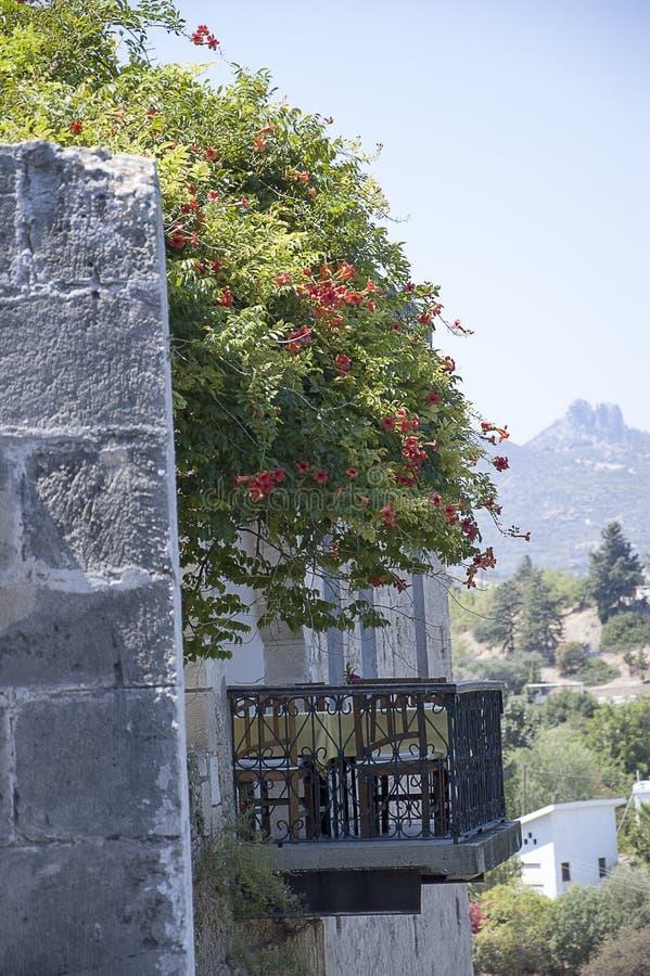 Balcony of Cyprus stock photos