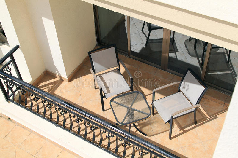 Download Balcony With Furniture Royalty Free Stock Photo - Image: 25609025