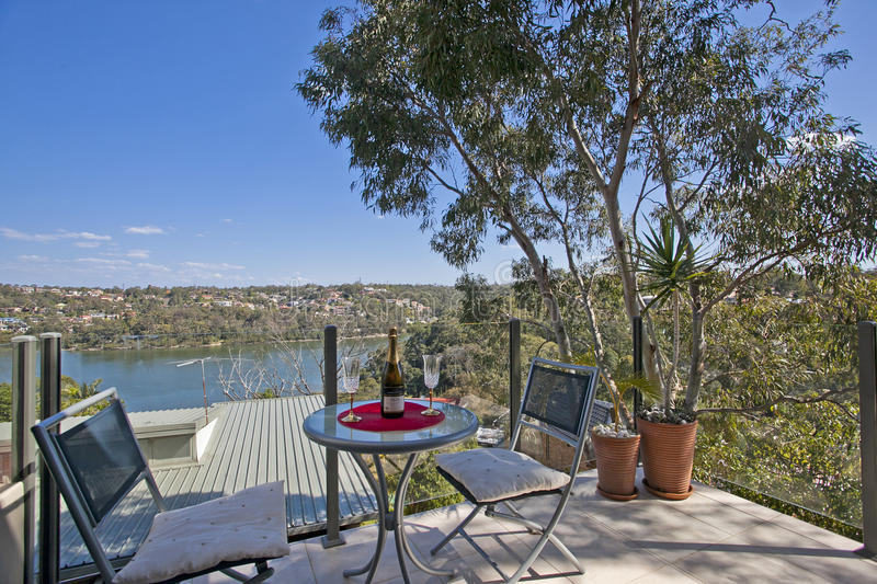 Download Balcony with a view stock image. Image of luxury, garden - 21564811