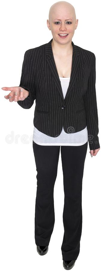 Bald Business Woman, Businesswoman, Isolated stock images