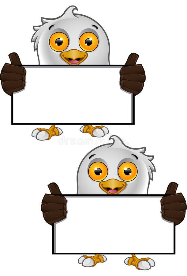 Download Bald Eagle Character stock vector. Illustration of beak - 29107651