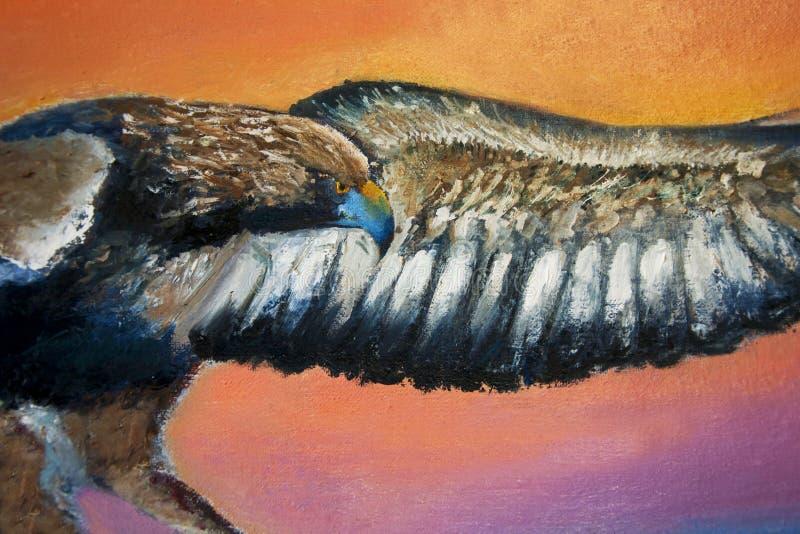 Bald Eagle, US National Emblem vector illustration