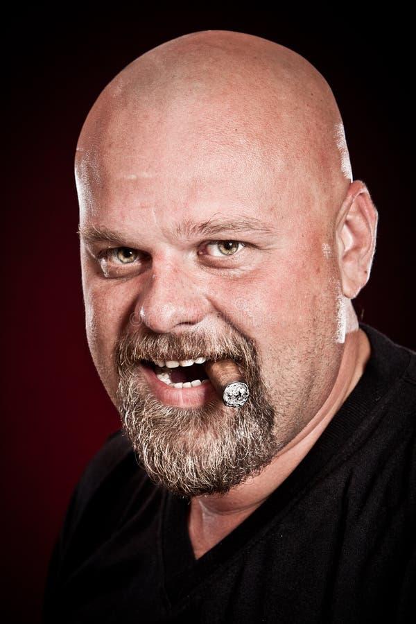Download Bald man stock image. Image of mature, beard, people - 16014743