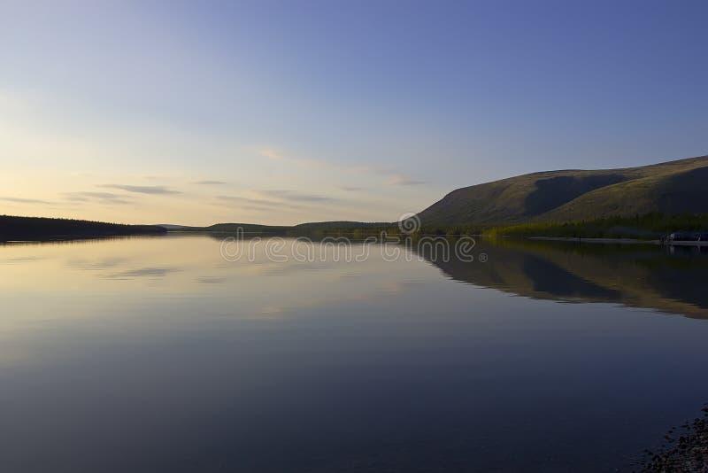 Bald mountain lake, Kola Peninsula, Murmansk region, Russia. Northern nature, nature Russia, mountain lake, Murmansk region, Kola Peninsula stock images