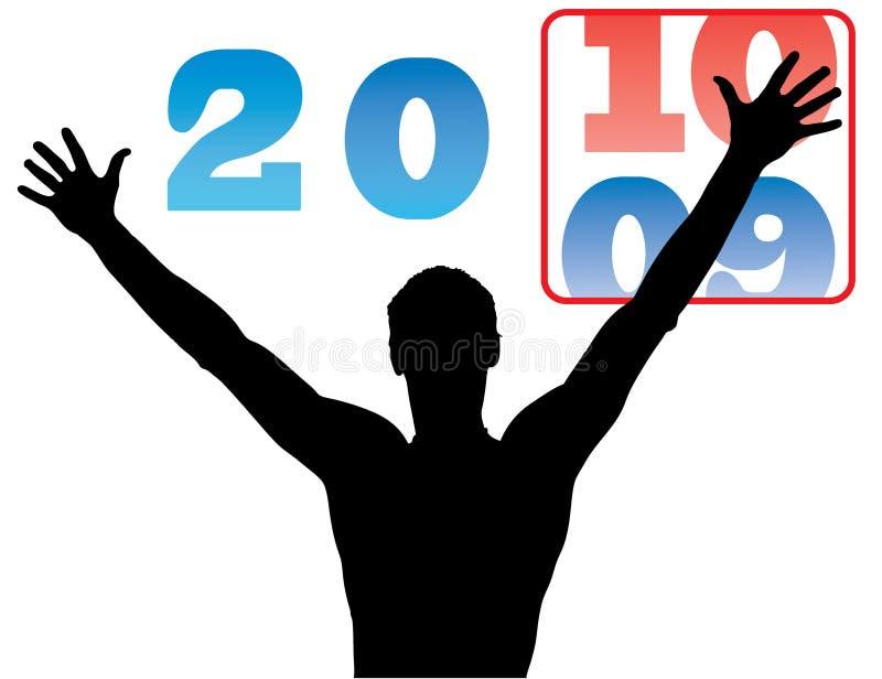 Bald neues Jahr vektor abbildung