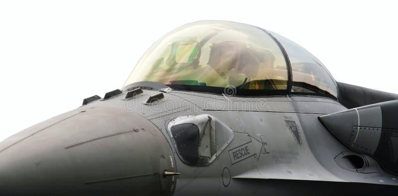 Baldacchino F16 immagine stock