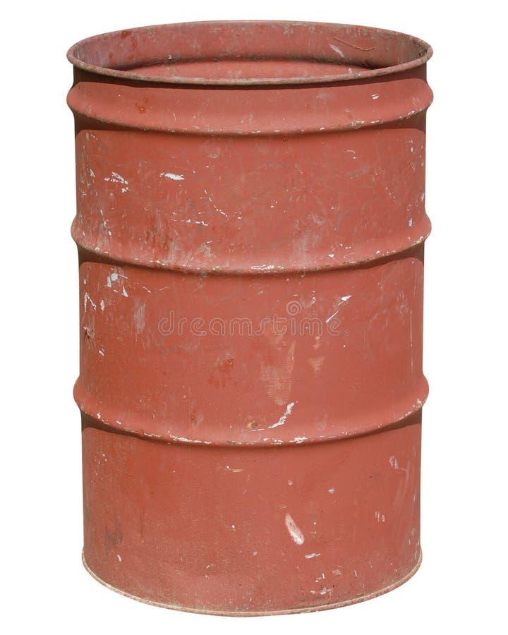 Balde do lixo, esboçado fotografia de stock