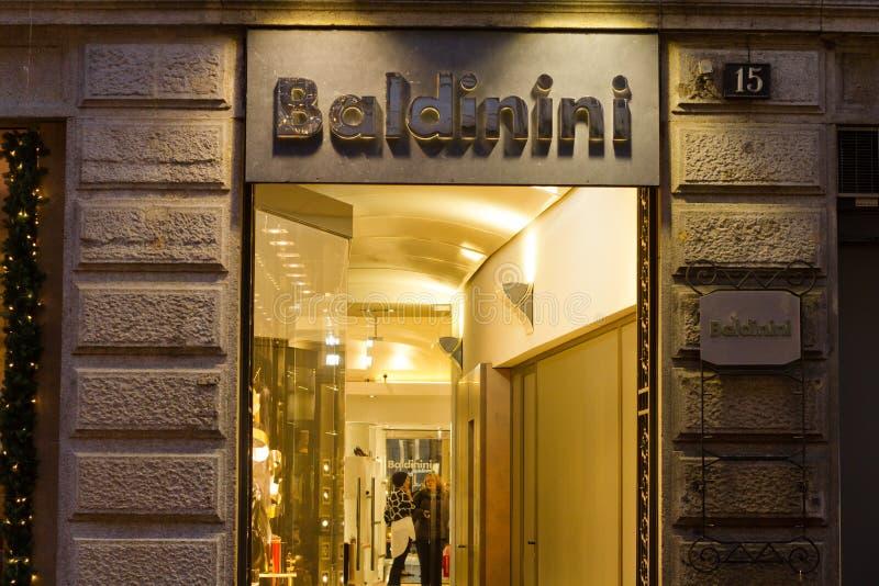 Baldinini商店 免版税库存照片