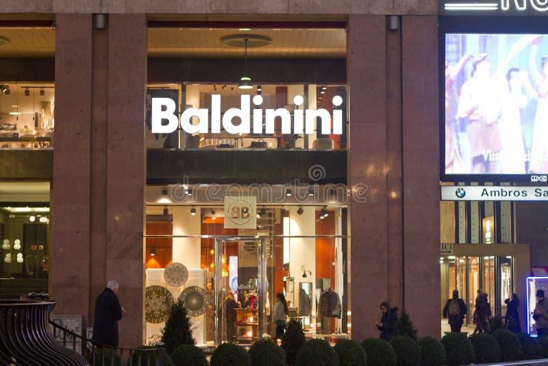 Baldinini商店 库存图片