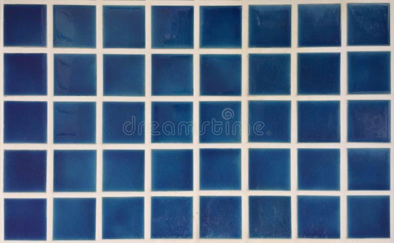 Baldosa cerámica azul fotos de archivo libres de regalías