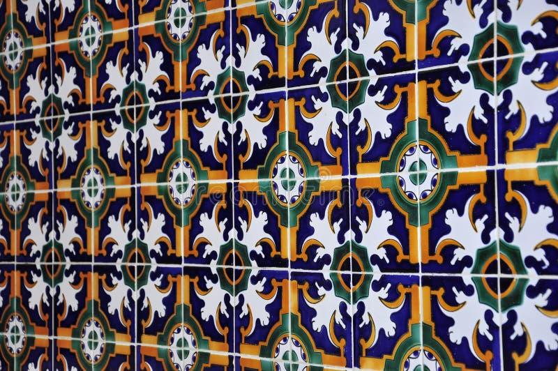 Baldosa cerámica tunecina foto de archivo libre de regalías