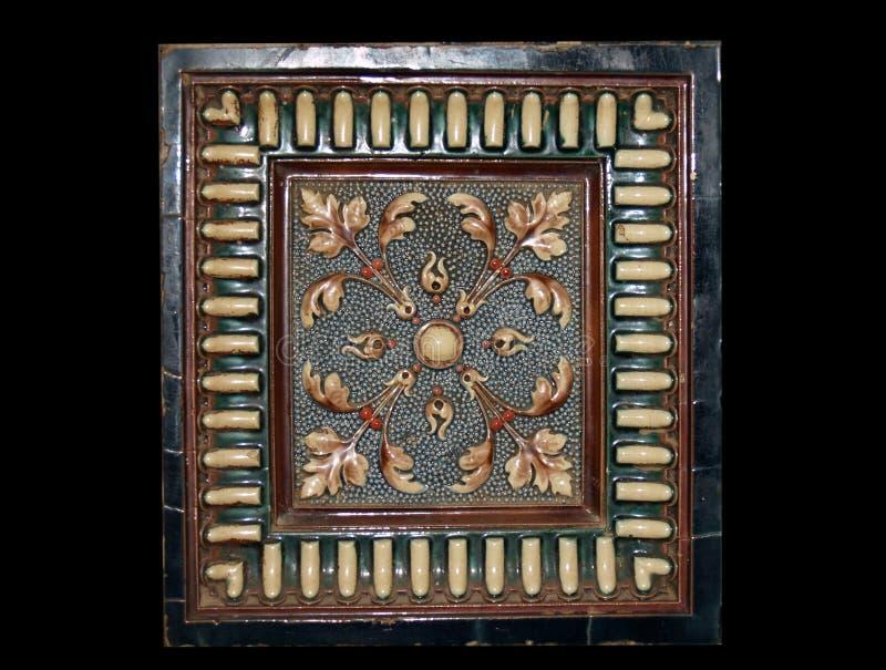 Baldosa cerámica vieja foto de archivo libre de regalías