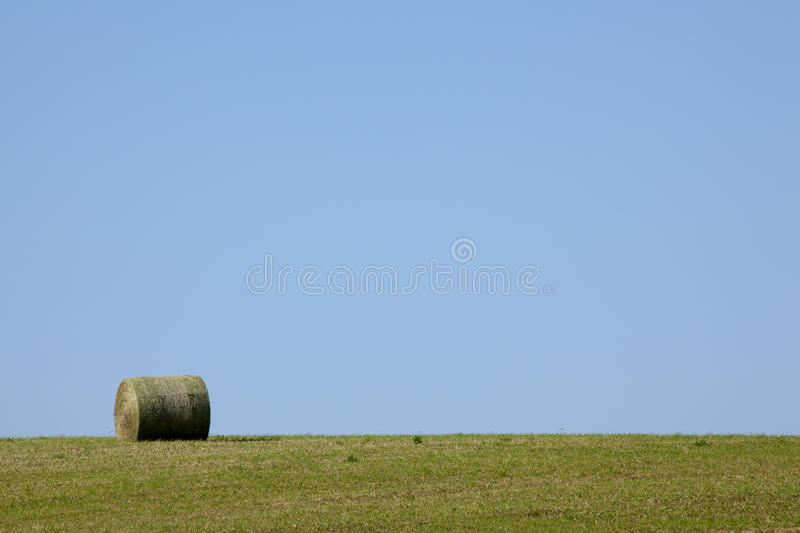 Download Bale of Hay stock photo. Image of circle, landscape, natural - 16552816