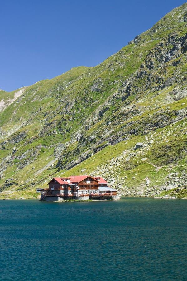 balea湖罗马尼亚 免版税图库摄影