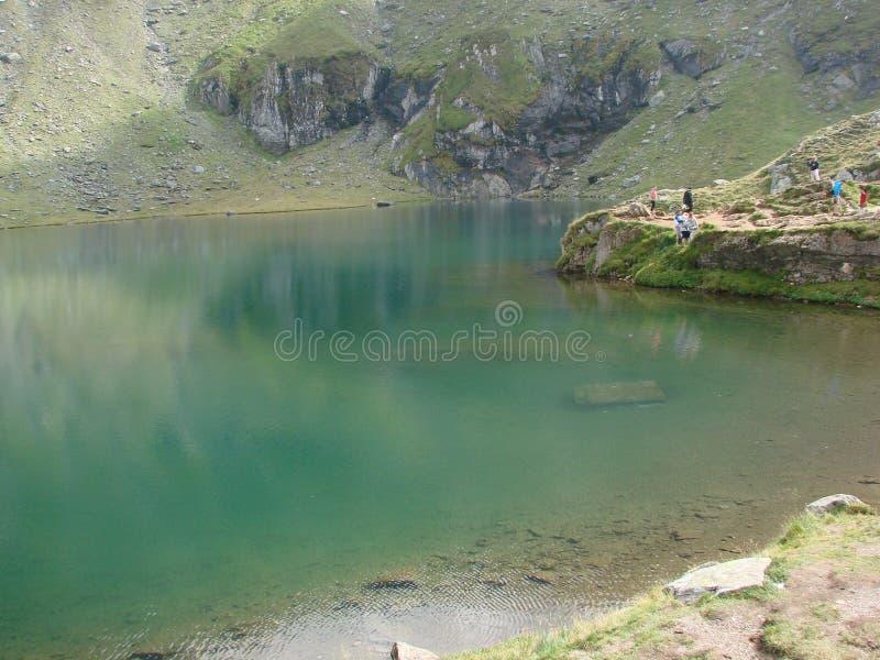 Balea湖 免版税库存图片
