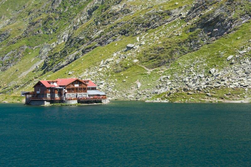 Balea Lake, Romania royalty free stock images